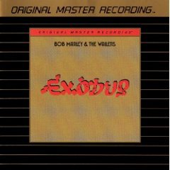 bob marley & the wailers - exodus GOLD CD 1977 1995 mobile fidelity sound lab used mint