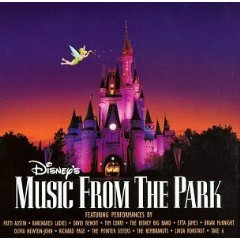 disney's music from the park - various artists CD 1996 buena vista disney used mint