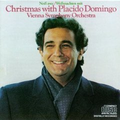 christmas with placido domingo - vienna symphony orchestra CD 1981 CBS used mint