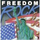 freedom rock - various artists CD 2-discs 1987 warner 40 tracks total used mint