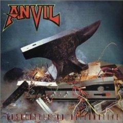 anvil - absolutely no alternative CD 1997 massacre records 10 tracks used mint