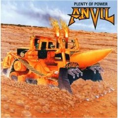 anvil - plenty of power CD 2000 massacre records germany 11 tracks used mint