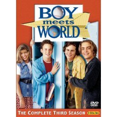 boy meets world complete third season DVD 2005 buena vista used mint