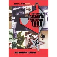 tony hawk's gigantic skatepark tour summer 2000 DVD 2-discs redline used mint