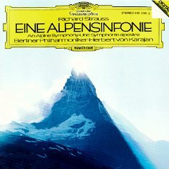 richard strauss - eine alpensinfonie - karajan berliner philharmoniker 1981 DG mint