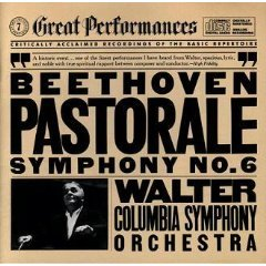 beethoven symphony no.6 pastorale by columbia symphony orchestra and walter CD 1985 CBS mint