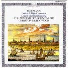 telemann double & triple concertos - academy of ancient music & hogwood CD 1984 polygram germany