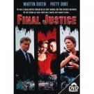 final justice starring martin sheen & patty duke DVD 1993 leonard hill films used mint