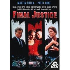 final justice starring martin sheen & patty duke DVD 1993 leonard hill films used mint