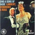 lambert hendricks & ross - sing a song of basie CD 1992 grp BMG Direct new factory sealed