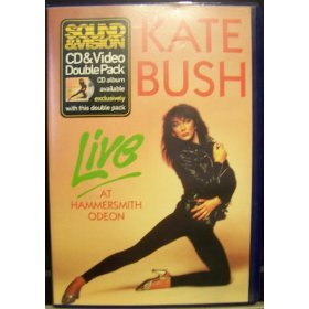 kate bush live at hammersmithodeon CD & Video double pack 1994 EMI music canada mint
