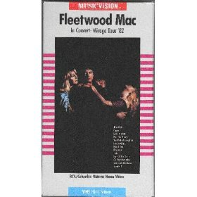 fleetwood mac in concert mirage tour '82 VHS 1982 1985 RCA columbia 78 mins mint