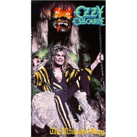 ozzy osbourne - the ultimate ozzy VHS 1986 CBS fox 85 minutes used mint
