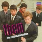 them featuring van morrison CD 1982 1987 polygram decca london 13 tracks used mint