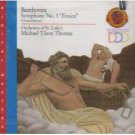 beethoven symphony no.3 eroica - orchestra of st. luke's & michael tilson thomas CD 1988 CBS mint
