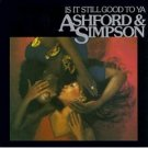 ashford & simpson - is it still good to ya CD 1996 warner used mint