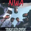 N.W.A - straight outta compton CD 1988 priority 17 tracks used very good