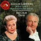 alicia de larrocha - mozart piano concertos nos. 23 & 24 - davis CD 1992 RCA mint