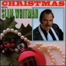 christmas with slim whitman CD 1995 sony brand new