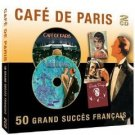 cafe de paris - 50 grands succes francais CD 2-discs 2001 prism import new
