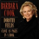 barbara cook - dorothy fields close as pages in a book CD 1993 DRG records used mint