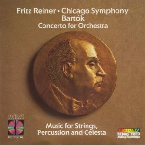 reiner - bartok concerto for orchestra & music for strings percussion and celesta CD 1986 RCA mint