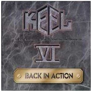keel VI - back in action CD 1998 derock made in canada used mint
