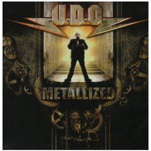 U.D.O. - metallized CD 2008 locomotive records used mint