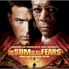 sum of all fears movie soundtrack - jerry goldsmith CD 2002 elektra used barcode punched