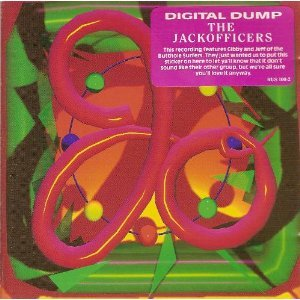 jackofficers - digital dump CD 1990 rough trade used mint