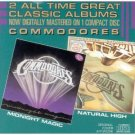 commodores - midnight magic / natural high CD 1986 motown used mint