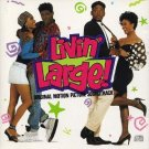livin' large - original motion picture soundtrack CD 1991 sony def jamused mint barcode punched