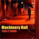machinery hall - tear it down CD 2000 rockbox used mint