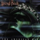 sacred reich - american way CD 1990 hollywood used mint barcode punched