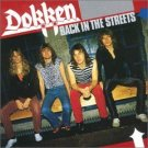 dokken - back in the streets CD 1989 repertoire records west germany used mint