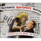 iron maiden - be quick or be dead CD single 1992 EMI 3 tracks used mint