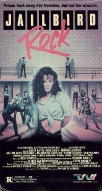 jailbird rock starring Robin Antin, Valerie Richards VHS 1988 trans world used very good