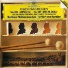 Haydn Symphonies No. 103 London & No. 104 - berlin phil & karajan CD 1982 polydor mint