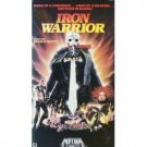 iron warrior - miles o'keeffe savina gersak tim lane VHS 1987 media home rated R 82 mins used