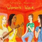 women's work - various artists CD 1996  putumayo used mint