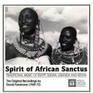 spirit of african sanctus - various artists CD 1991 musical heritage society used mint