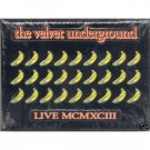 velvet underground - live MCMXCIII CD limited edition with peelable bananas on cover used