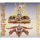 iron maiden - clairvoyant CD single 1988 BBC EMI 3 tracks used mint