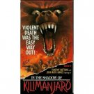 in the shadow of kilimanjaro VHS 1987 94 minites used good