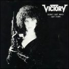 victory - don't get mad ... get even CD 1987 mercenary 11 tracks used mint