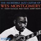 wes montgomery - incredible jazz guitar CD 2000 riverside 20 bit remaster used mint