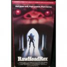 raw head rex - David Dukes Kelly Piper VHS 1987 vestron 89 minutes used VG