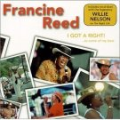 francine reed - i got a right to some of my best CD 2001 CMO used mint