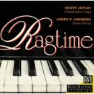 ragtime - scott joplin & james p. johnson CD 1994 music masters used mint