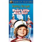 poor little rich girl - shirley temple VHS 2002 20th century fox used